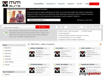 Katalog stron - mmsuits.net