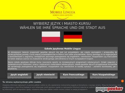 Język niemiecki, angielski
