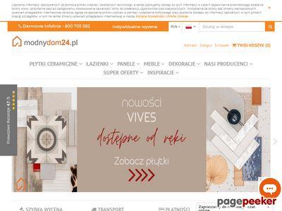 Modnydom24.pl - Sklep internetowy z wyposażeniem wnętrz