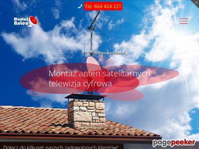 Montaż anten satelitarnych Lublin