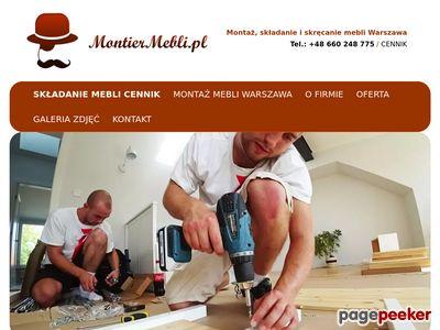 Montiermebli.pl - montaż mebli ikea warszawa