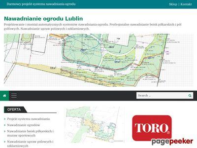 Nawadnianie ogrodu, nawadnianie trawników Lublin