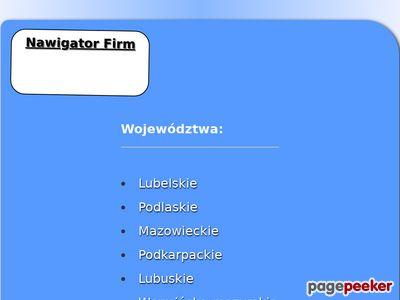 Nawigator-firm.pl udogodnienia w naszej bazie firm