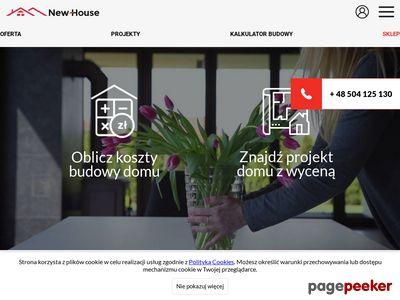 Firma budowlana New-House| Budowa domów jednorodzinnych pod klucz
