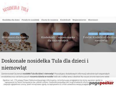 Nosidełka Tula dla dzieci i niemowląt - NosidelkaTula.pl