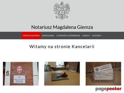 Kancelaria notarialna Katowice - Notariusz-Giemza.pl