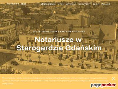 Kancelaria notarialna Starogard