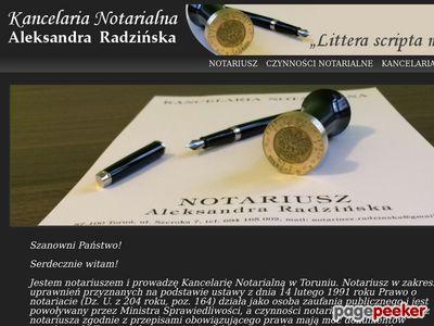Notariusze Toruń