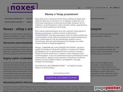 Akcesoria samochodowe, spinki samochodowe – noxes.pl