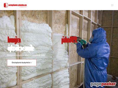 Ocieplanie pianką poliuretanową Białystok - Symeria