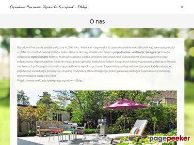 projektowanie ogrodu Elbląg