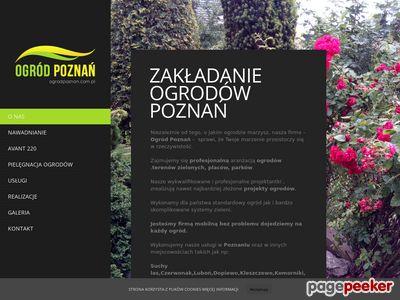 Projektowanie ogrodów - Poznań. Wynajem ładowarki AVANT.