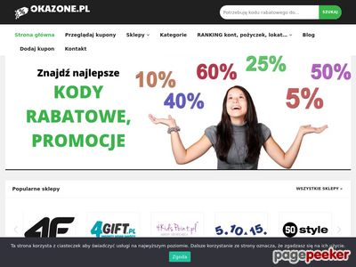Kody rabatowe - Okazone.pl