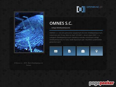 OMNES S.C. - usługi detektywistyczne