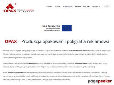 Opax Zbigniew I Jerzy Opyrchał Spółka Jawna
