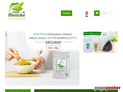 Herbata matcha - OrganicMatcha.pl