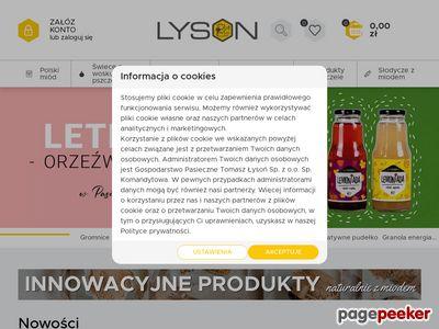 Produkty pszczele - Oryginalne Prezenty - Łysoń