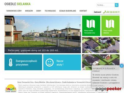 Dom na sprzedaż w Katowicach - OSIEDLE SIELANKA