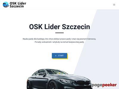 Nauka jazdy Szczecin - osk-lider-szczecin.pl