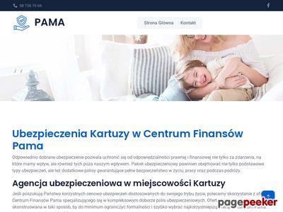 """""""PAMA"""" Biuro obsługi finansów i nieruchomości - Ubezpieczenia Kartuzy"""