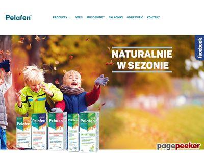 Pelafen.pl - syropy na przeziębienie
