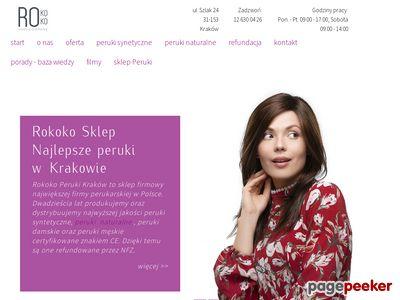 Sprzedaż peruk w Krakowie