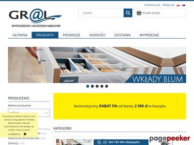 Akcesoria meblowe do kuchni i łazienki - PHU-GRAL.PL