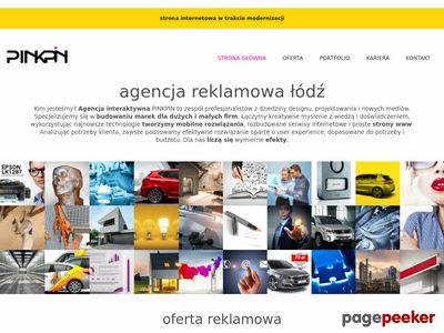 Pinkpin - Agencja reklamowa Łódź