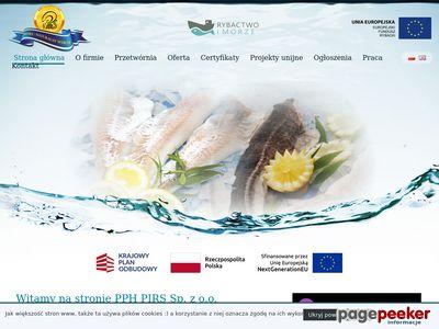 PIRS SPÓŁKA Z O.O. Darłowo hurtownia rybna