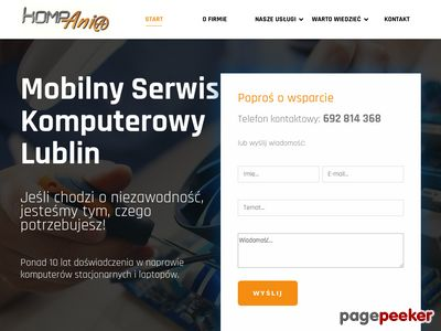 Fachowa naprawa komputera Lublin, dojazd gratis