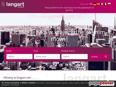 Kursy językowe za granicą - Langart.net