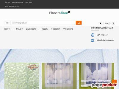 Planetafiran.pl - Firanki dla dzieci