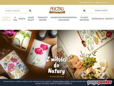 Pliczko.pl : olej rzepakowy tłoczony na zimno