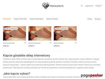 Kapcie góralskie | Podhalove.pl