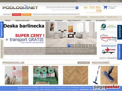 Oferta sklepu - podlogi24.net