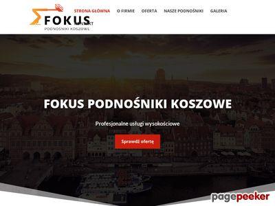 Podnośniki Koszowe FOKUS