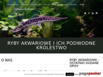 Podwodne Królestwo - Świat ryb akwariowych