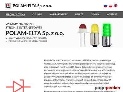 Kontrolki led | polamelta.com.pl