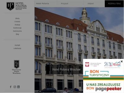 Hotel Polonia - Hotele we Wrocławiu. COHM Sp.z o.o.