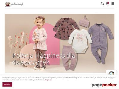 Sukienki, rajstopki i inne ubranka dla małych dzieci