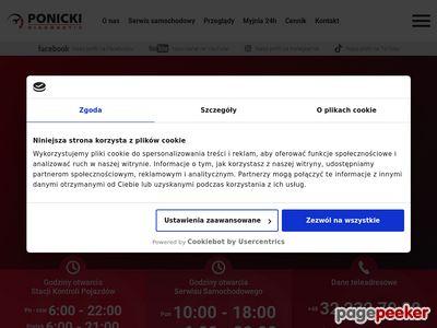 Stacja Kontroli Pojazdów Gliwice – Ponicki
