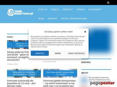 poradniktransportowy.pl - Poradnik transportowy