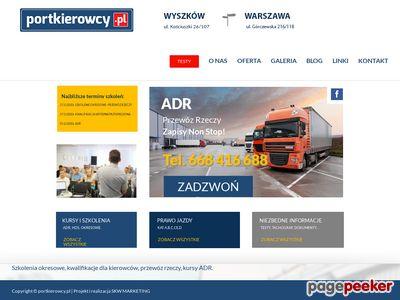 Kwalifikacja wstępna Warszawa