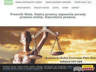 Prawnik dla firm. Wola i Praga