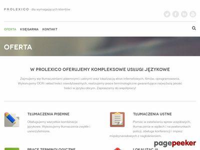Prolexico - biuro tłumaczeń
