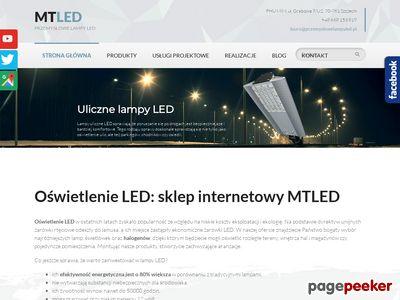 MTLED przemysłowe oprawy led