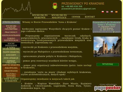 Sowa - Przewodnicy Kraków