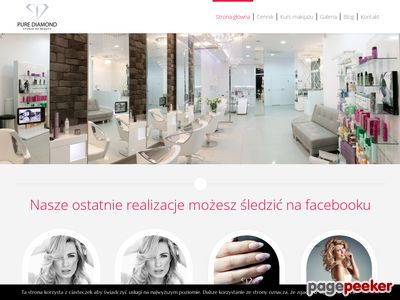 Salon fryzjerski Pure Diamond