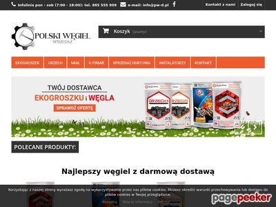 EkoGroszek, węgiel, miał, kotły - Polski Węgiel Dystrybucja