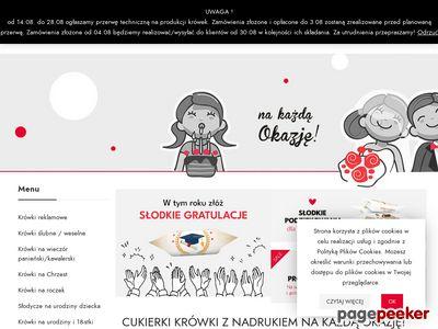 Cukierki z logo firmy - pyszne krowki.pl